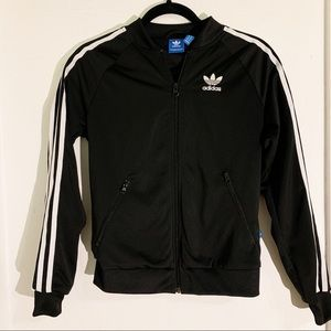 ADIDAS Classic Track Jacket with Logo in Back